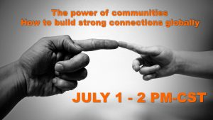 webinar cover how to build strong connections globally